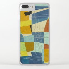 Don Quixote and the Windmill Clear iPhone Case