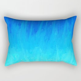 Icy Blue Blast Rectangular Pillow