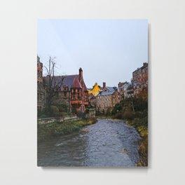 Dean's Village, Edinburg Metal Print