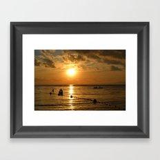 Fisherman's Paradise Framed Art Print