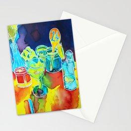 Food Service, Café Illustration Stationery Cards