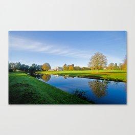 Bowling Green House Canvas Print