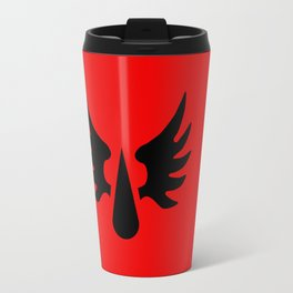 Warhammer 40k Blood Angels Minimalist Poster Travel Mug