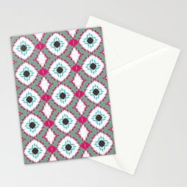 Colour Strips Stationery Cards