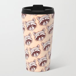 Happy raccoon Travel Mug