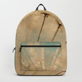 dandelion gold and mint Backpack