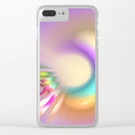 creative love Clear iPhone Case