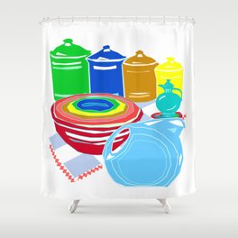 Favoriteware Collection Shower Curtain