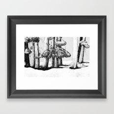 Tree Scene Framed Art Print