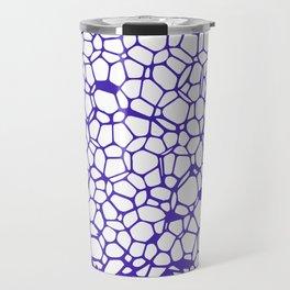 Random Foam (Smashed Blueberry) Travel Mug