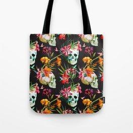 Hawaiian Skull Tote Bag