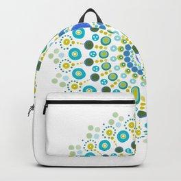 Dotty Mandala Green Backpack