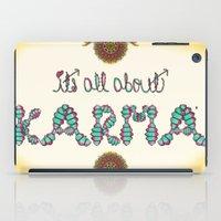 karma iPad Cases featuring Karma by famenxt