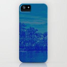 Deciduous blues iPhone Case