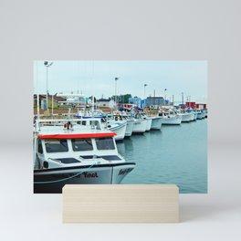 Fishing Pier PEI Mini Art Print