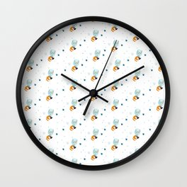 I´m not a star fox (pattern) #1 Wall Clock