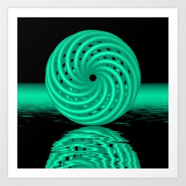 knotted circles -4- Kunstdrucke