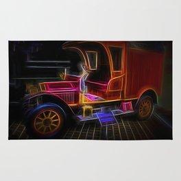 Fractal carriage Rug