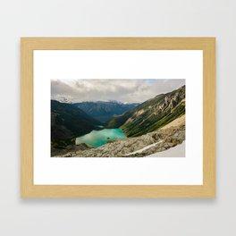 Joffre Lakes, B.C. Framed Art Print