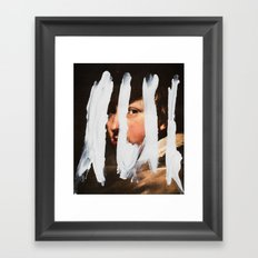 Untitled (Finger Paint 2) Framed Art Print