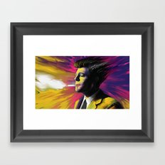 Marcello Mastroianni Framed Art Print