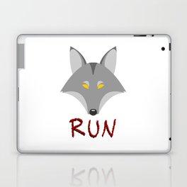 Wolf - Run Laptop & iPad Skin