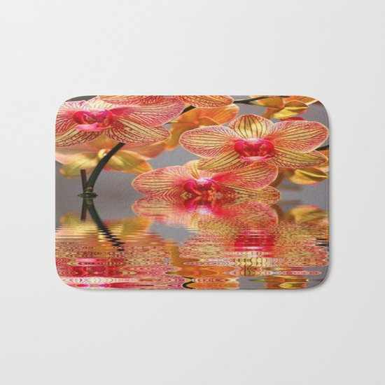 Orchid Reflections Bath Mat