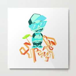 Superstylin Metal Print