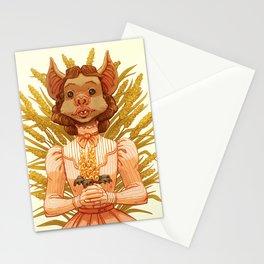 Vampire Bat Girl Stationery Cards