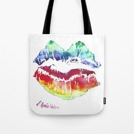 Kiss Of Color Tote Bag