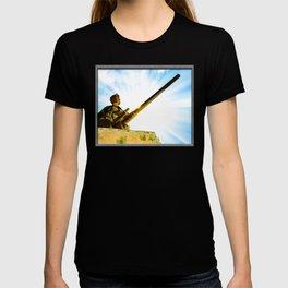 Vintage World War II Era Tank Commander T-shirt