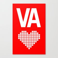 Virginia Love Canvas Print