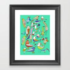 Tweet Tweet Tweet. Framed Art Print