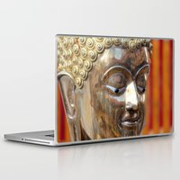 thailand Laptop & iPad Skins featuring Thailand Buddha  by Maria Faith Garcia
