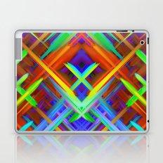 Colorful digital art splashing G466 Laptop & iPad Skin