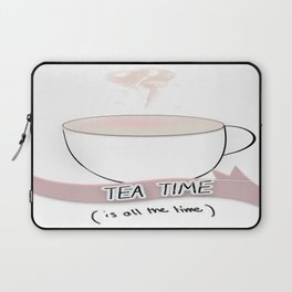 tea time Laptop Sleeve