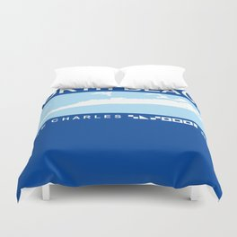 Lake Charles - Louisiana. Duvet Cover