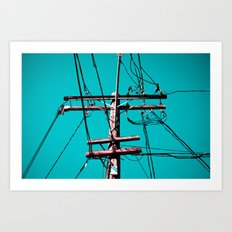 electric avenue Art Print