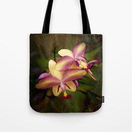Hawaiian Sunrise Orchid Tote Bag