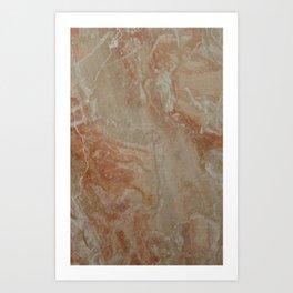 Brescia marble Art Print