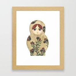 Matryoshka Doll #2 Framed Art Print