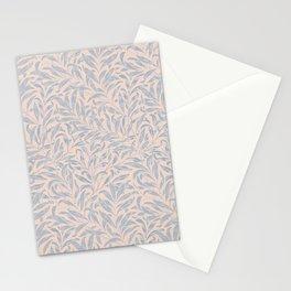 Leaf print vintage William Morris pattern Stationery Cards