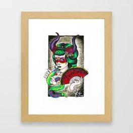 She Devil  Framed Art Print