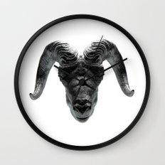 Big Horn Wall Clock