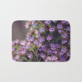 Pollination in Motion III Bath Mat