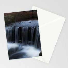 Waterfall in the park Stationery Cards