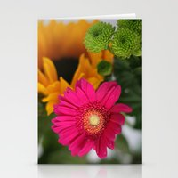 hot pink Stationery Cards featuring hot pink by EnglishRose23