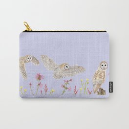 Meadow Barn Owl Carry-All Pouch