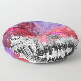 NEBULA VINTAGE PARIS Floor Pillow