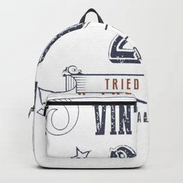 20th Birthday - Vintage 20 Tried & True Backpack